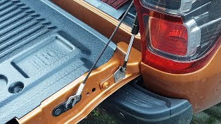 Download Ford Ranger / Mazda BT50 Rear Gate Slow Down Strut Installation Video