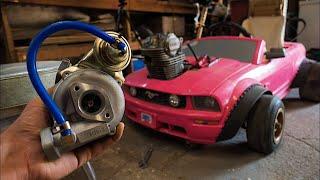 Download Turbo Install on the Barbie Car Go Kart 4K Video