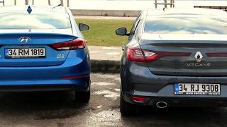 Download Hyundai Elantra vs Renault Megane Sedan - Karşılaştırma Video
