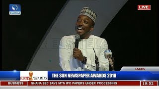 Download Sun Awards: Bovi Revisits Animal Kingdom, Takes On Saraki, Dino, Dankwambo Video