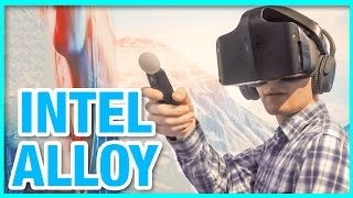 Download Intel Project Alloy: Wireless VR - Hands On Demo (CES 2017) Video