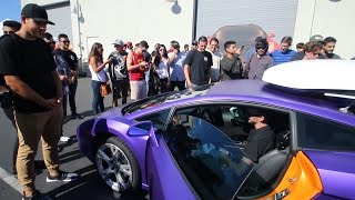 Download Took the Lambo to a Supercar Show Video
