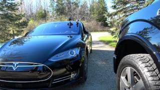 Download Tesla Model S: Summon TEST! w/Firmware 8 Video