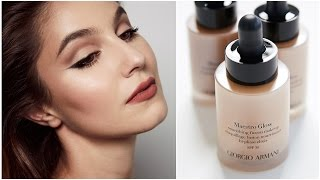 Download Armani Maestro GLOW Foundation First Impressions Review | Karima McKimmie Video