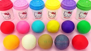 Download Learn Colors Hello Kitty Play Dough with Elmo Ice Cream Popsicles and Surprie Toys PJ Masks Video