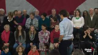 Download Trudeau STABS sobbing disabled Woman right in the back Video