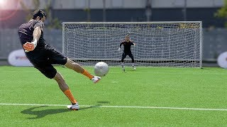 Download freekickerz vs Buffon - Ultimate Football Challenges Video
