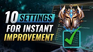 Download INSTANTLY Increase Your Winrate With These 10 Settings - League of Legends Video