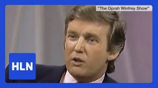 Download Oprah asks a 42-year-old Trump if he'd run for president Video