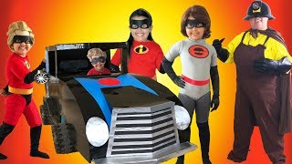 Download Disney Pixar INCREDIBLES 2 Halloween Costumes Toys and Incredimobile Video