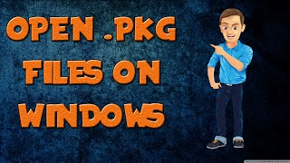 Download How to extract .PKG Files on WINDOWS!!! TECH SONIC Video