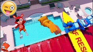 Download ADVENTURE ANIMATRONICS DIVE OFF 9999 FOOT DIVING BOARD! (GTA 5 Mods For Kids FNAF RedHatter) Video