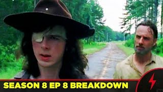 Download Walking Dead - WHAT HAPPENED TO CARL? - 8x08 MID SEASON FINALE Breakdown Video