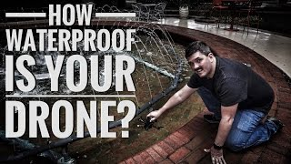 Download How Waterproof is Your Drone? Video