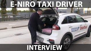 Download Interview of e-Niro taxi driver Video