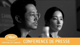 Download BURNING - Cannes 2018 - Conférence de Presse - VF Video