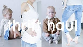 Download Thrift Haul | Maternity, Toddler & Baby Video