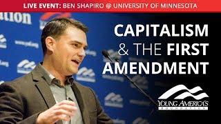 Download Ben Shapiro LIVE at University of Minnesota Video
