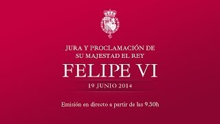 Download Acto solemne de Jura y Proclamación de de Su Majestad el Rey Don Felipe VI Video