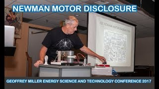 Download Newman Motor Disclosure by Geoffrey Miller Energy Science and Technology Conference Video