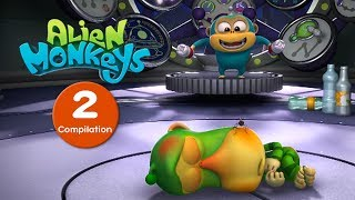 Download Funny Animated Cartoon - Alien Monkeys - Episodes 11-20 - Cartoons For Children Video