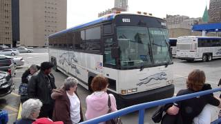 Download Greyhound bus ride experience Video