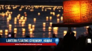 Download Hawaii Lantern Floating Ceremony - Memorial Day Video