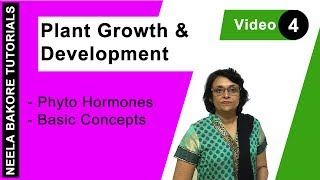 Download Plant Growth & Development - Phyto Hormones - Basic Concepts Video
