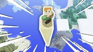 Download WORLD'S TALLEST TRAMPOLINE JUMP!!! (Minecraft Secret World #4) Video