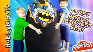 Download Giant BATMAN Surprise Egg Video