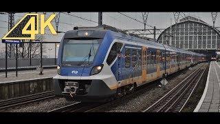 Download Vertrek SNG 2701, 2301 en 2702 van Station Amsterdam Centraal | Ultra HD (4K) Video