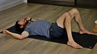 Download Bedtime Yoga to Release Sore Muscles and Calm Your Nerves   Yoga Dose Video