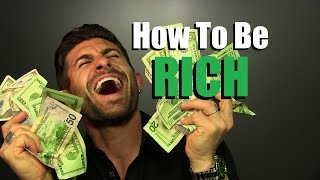 Download How To Be RICH   My 7 Secrets For Being Financially ALPHA!! Video