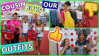 Download COUSIN BUYS OUR OUTFITS AT TARGET CHALLENGE ″SISTER FOREVER ″ Video