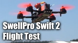 Download SwellPro Swift 2, trainer and racing drone - flight test Video