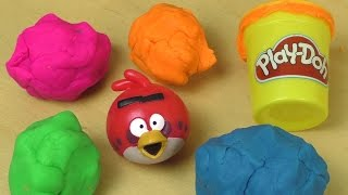 Download Play Doh ANGRY BIRDS Surprise Fun Unboxing Video