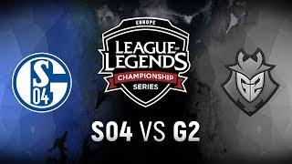 Download S04 vs. G2 | Final | EU LCS Regional Qualifier Game 1 | FC Schalke 04 vs. G2 Esports (2018) Video