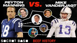 """Download Peyton Manning and his """"idiot kicker"""" had a brief beef, but the football world never let it die Video"""
