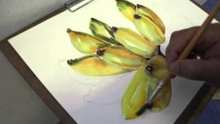 Download สีน้ำกล้วยๆ Video