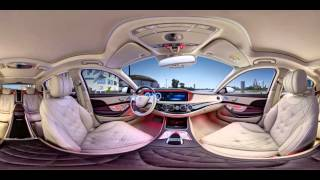 Download 360 video: Mercedes-Maybach S500 2015 Video