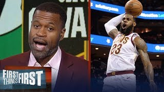 Download Stephen Jackson on how LeBron will lead Cavs to a Game 3 win over Boston | NBA | FIRST THINGS FIRST Video
