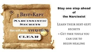 Download 3 Best-Kept Narcissistic Secrets That Will Make Everything Clear Video