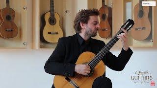 Download Marcin Dylla plays Capricho Arabe by Francisco Tárrega on six different guitars Video