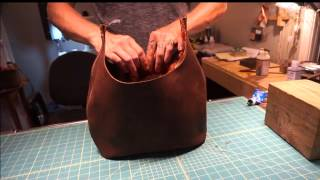 Download How I Make My Custom Top Grain Leather Bags Video