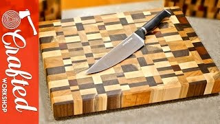 Download End Grain Cutting Boards from Scrap Wood How-To Video