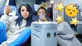 Download Sister Sleepover in First Class! VLOGMAS DAY 2! Niki DeMar Video