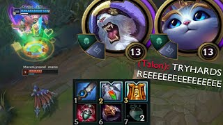 Download Yuumi but I jungle with Rengar the entire game because kitties stick together also sorry bot lane Video