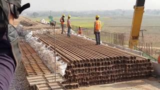 Download Load Testing of Bridge on Dedicated Freight Corridor near Aligarh Video
