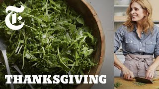 Download Arugula Salad With Anchovy Dressing | NYT - A Melissa Clark Thanksgiving Video