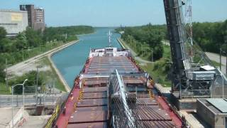 Download Great Lakes Sailing - Welland Canal HD time-lapse Video